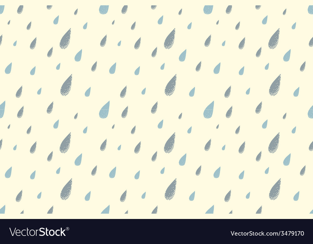 Rain pattern day vector | Price: 1 Credit (USD $1)