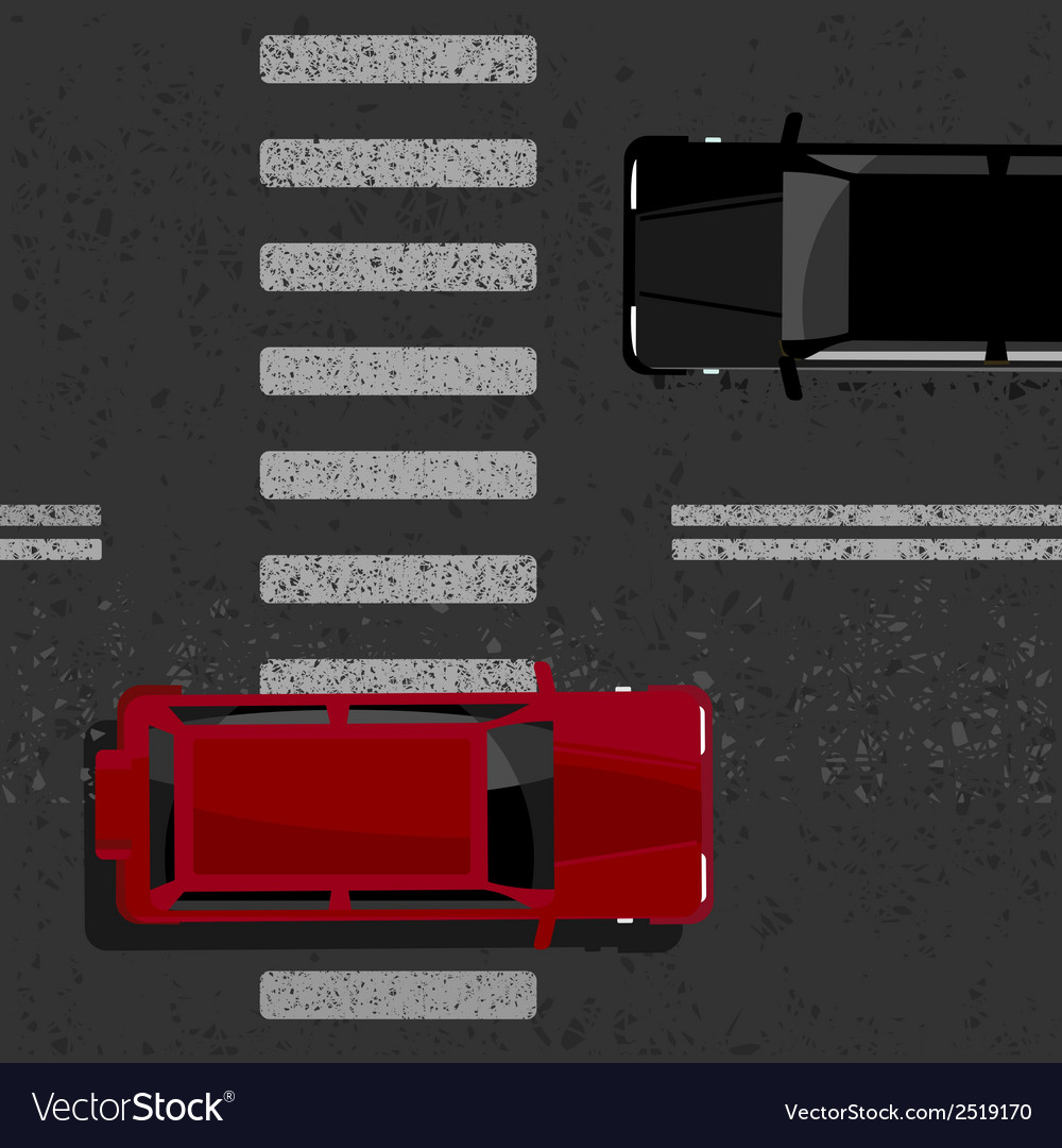 Urban road vector | Price: 1 Credit (USD $1)