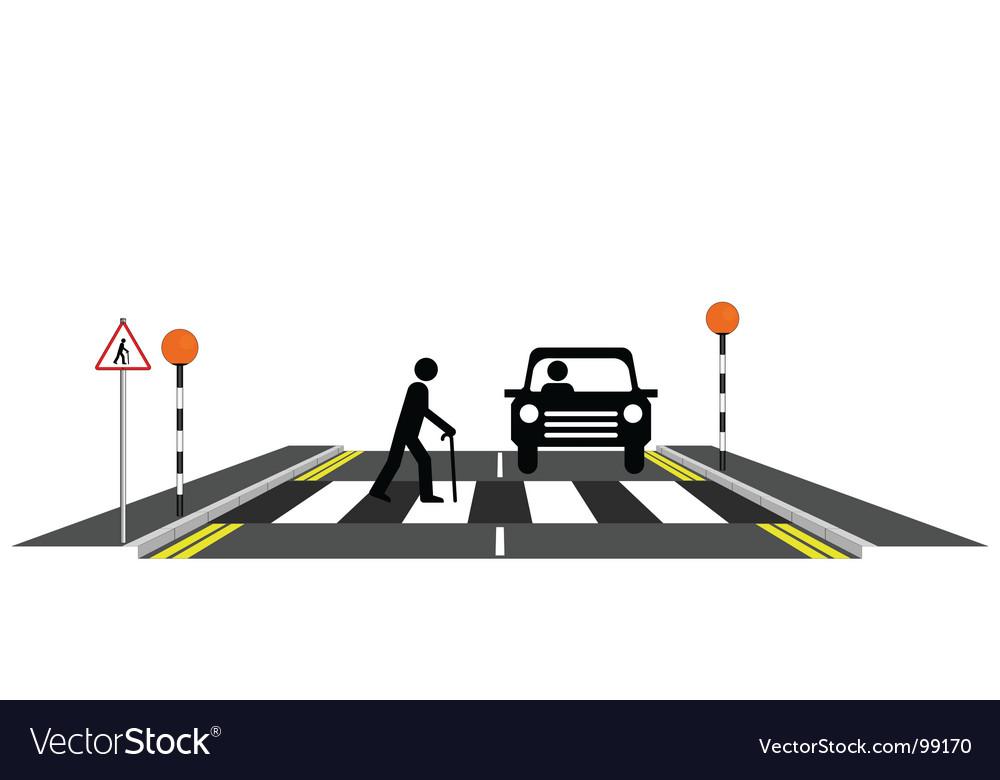Zebra crossing oap vector   Price: 1 Credit (USD $1)