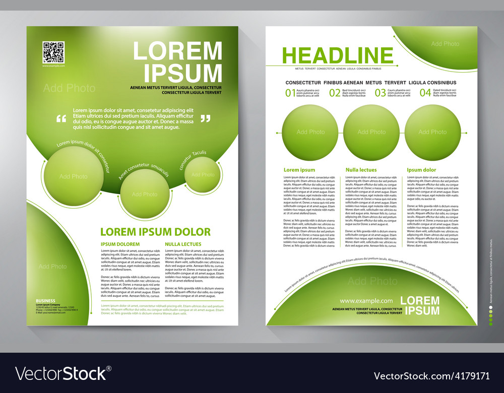 Brochure design template vector   Price: 1 Credit (USD $1)