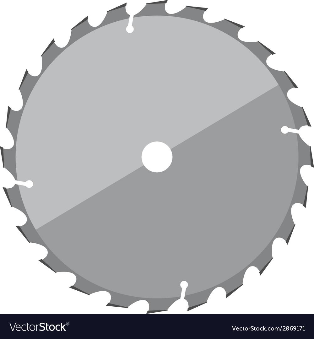 Circular saw 02 vector | Price: 1 Credit (USD $1)