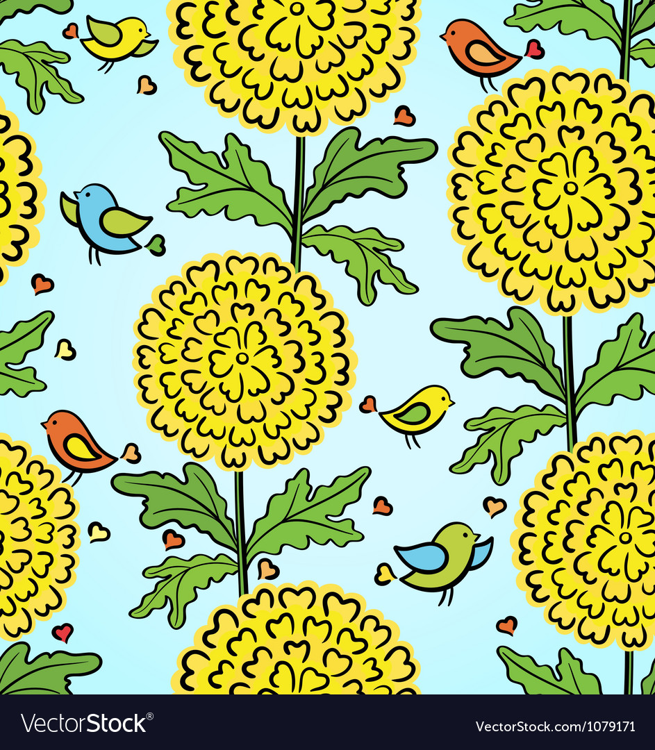 Decorative colorful funny seamless pattern vector | Price: 1 Credit (USD $1)