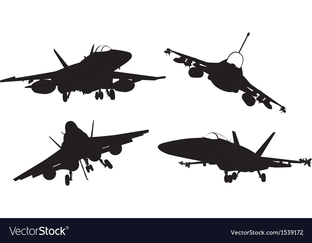 Aircrafts vector