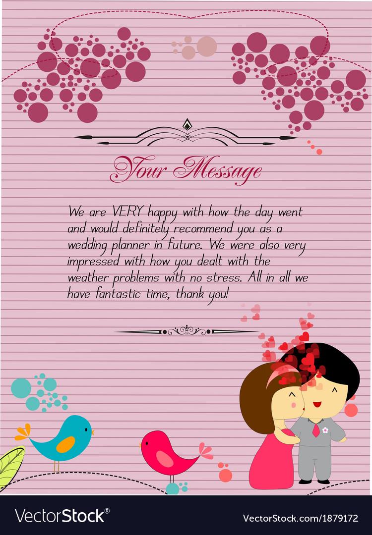 Letterhead valentines cardinal vector | Price: 1 Credit (USD $1)