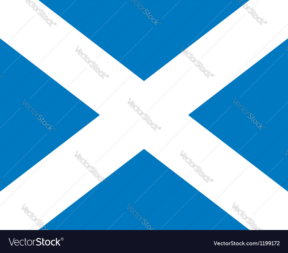 Scotland flag vector   Price: 1 Credit (USD $1)