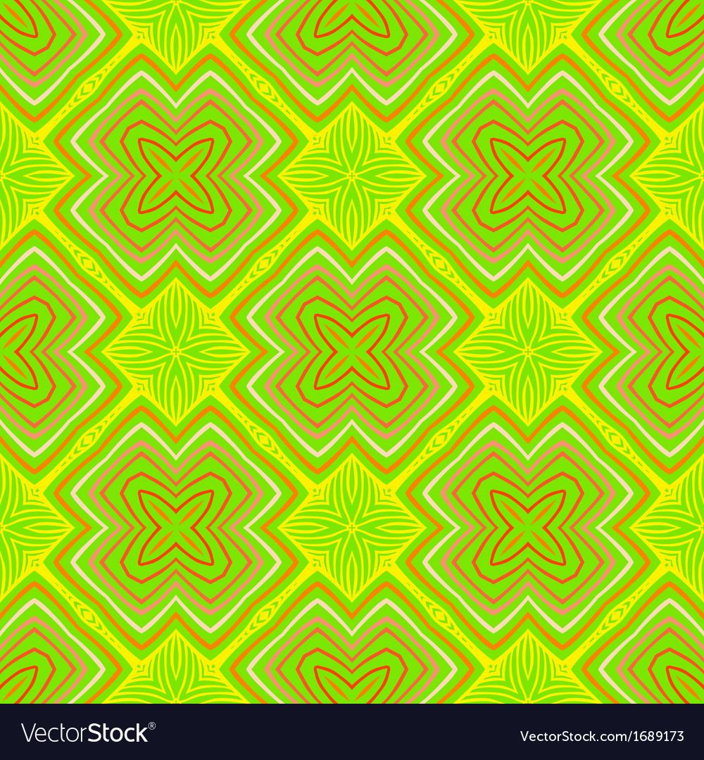 Geometric psychedelic sixties pattern vector | Price: 1 Credit (USD $1)