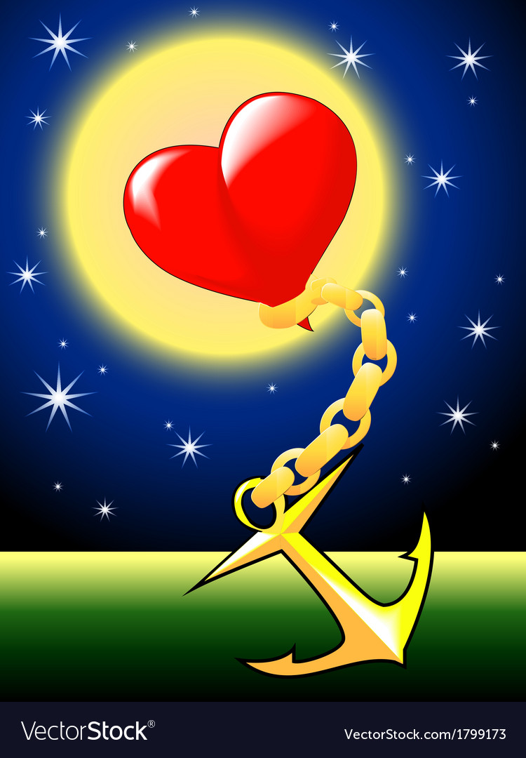 Heart in chains vector   Price: 1 Credit (USD $1)