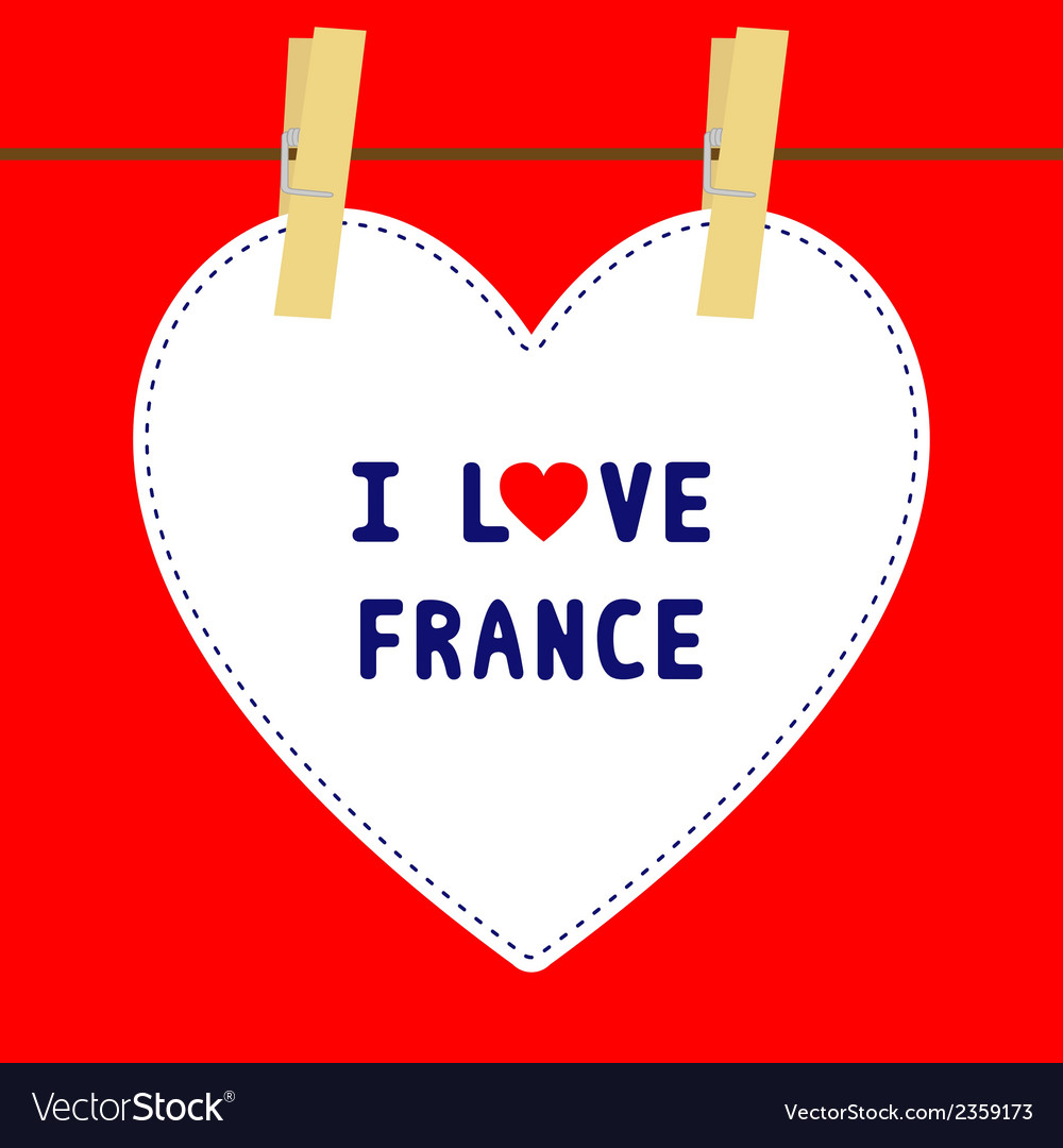 I love france5 vector | Price: 1 Credit (USD $1)