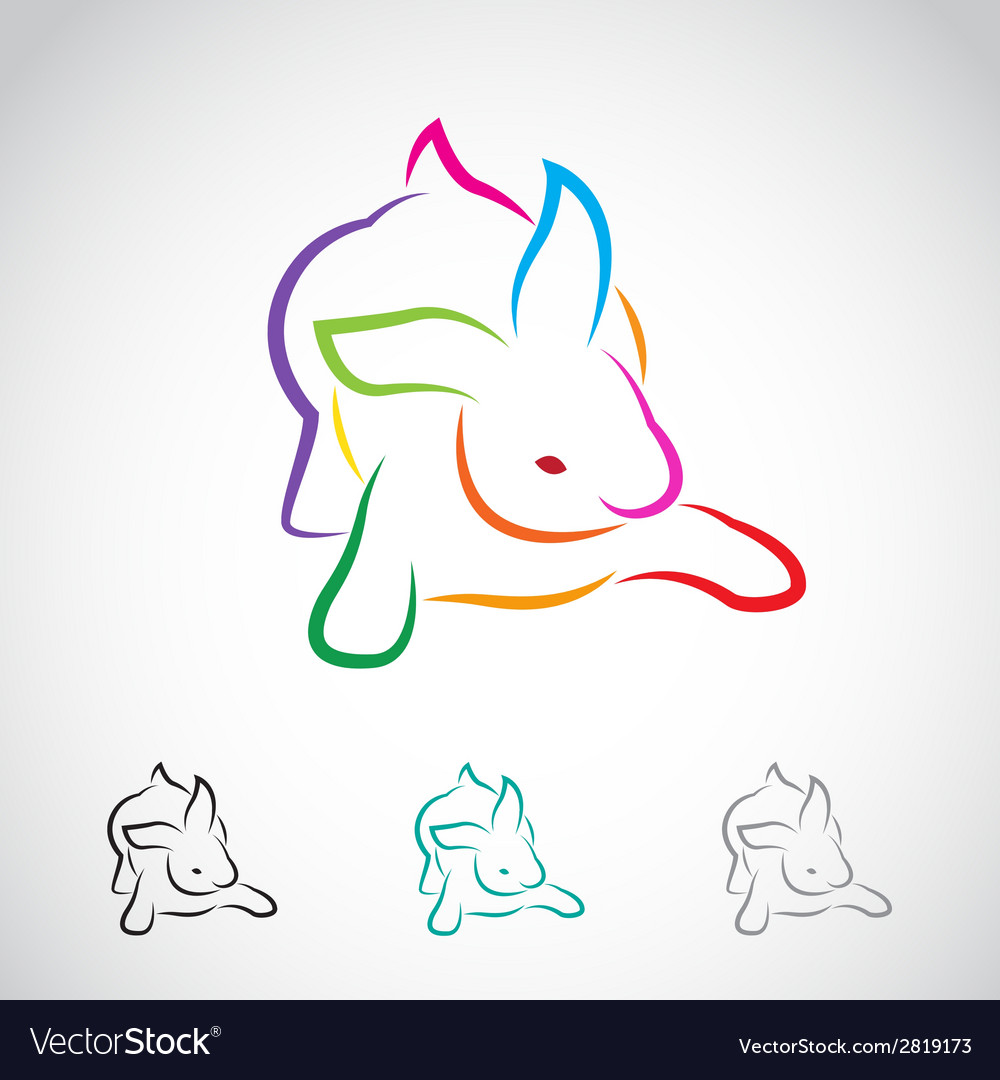 Rabbits vector | Price: 1 Credit (USD $1)