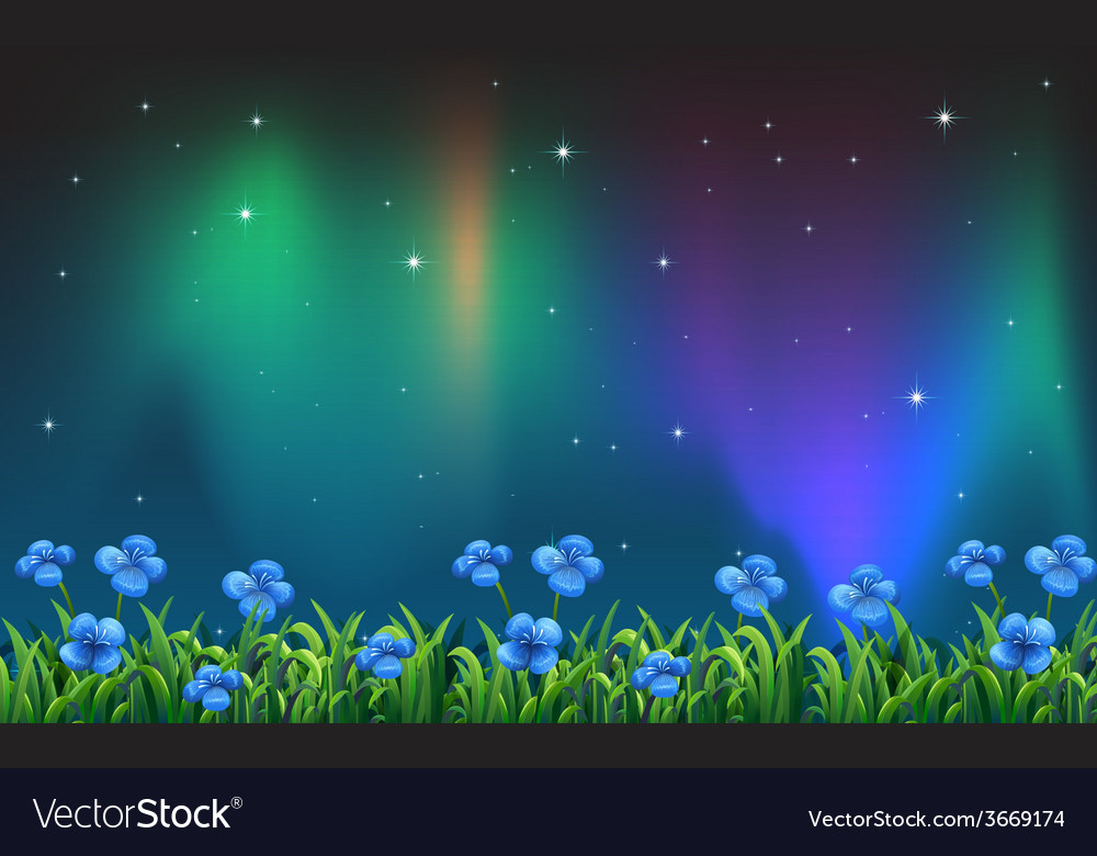 Beautiful flowers vector | Price: 1 Credit (USD $1)