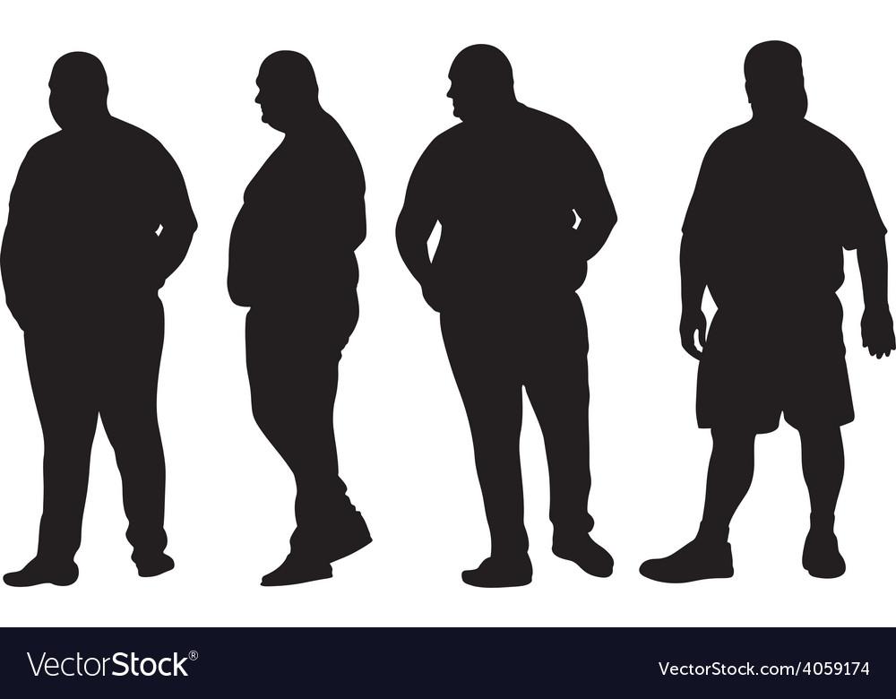 Fat men vector   Price: 1 Credit (USD $1)