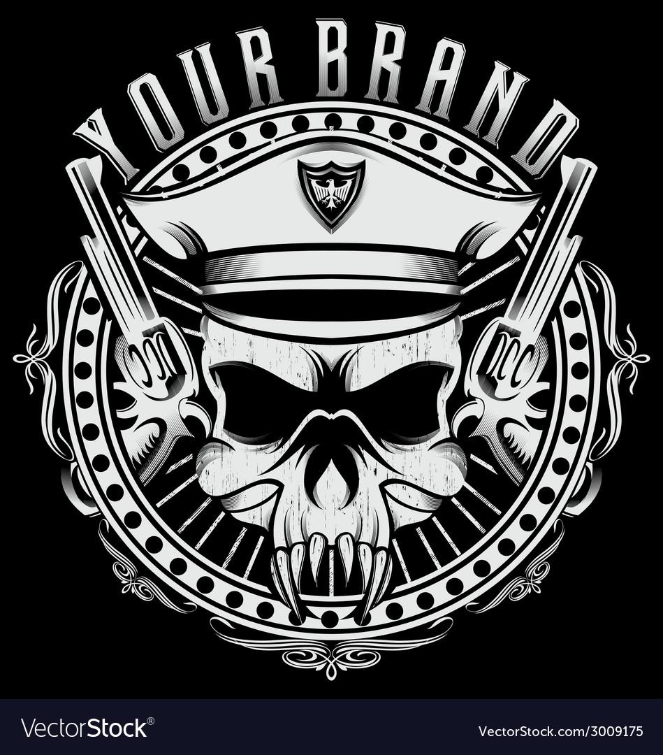 Skulls of captain vector   Price: 1 Credit (USD $1)