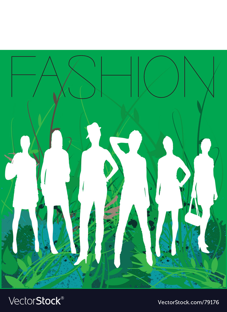 Spring fashion vector | Price: 1 Credit (USD $1)