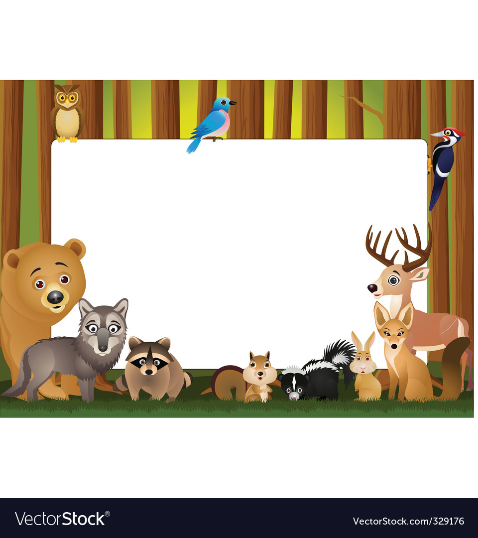 Wild animals vector | Price: 3 Credit (USD $3)