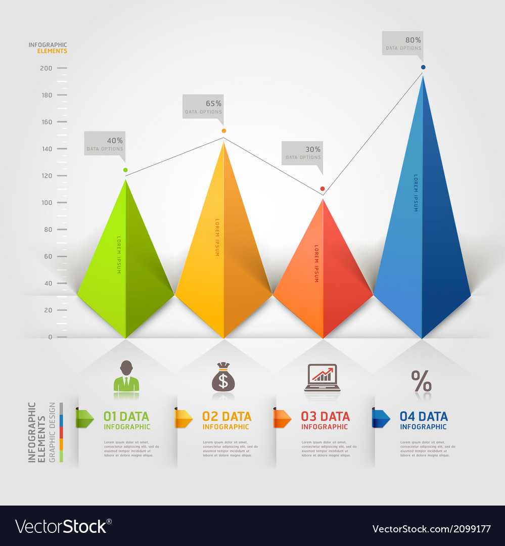 3d business triangle infographics vector | Price: 1 Credit (USD $1)