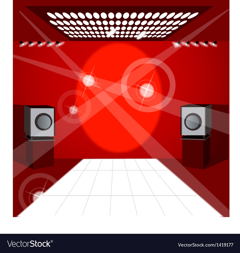 Club dance floor vector | Price: 1 Credit (USD $1)