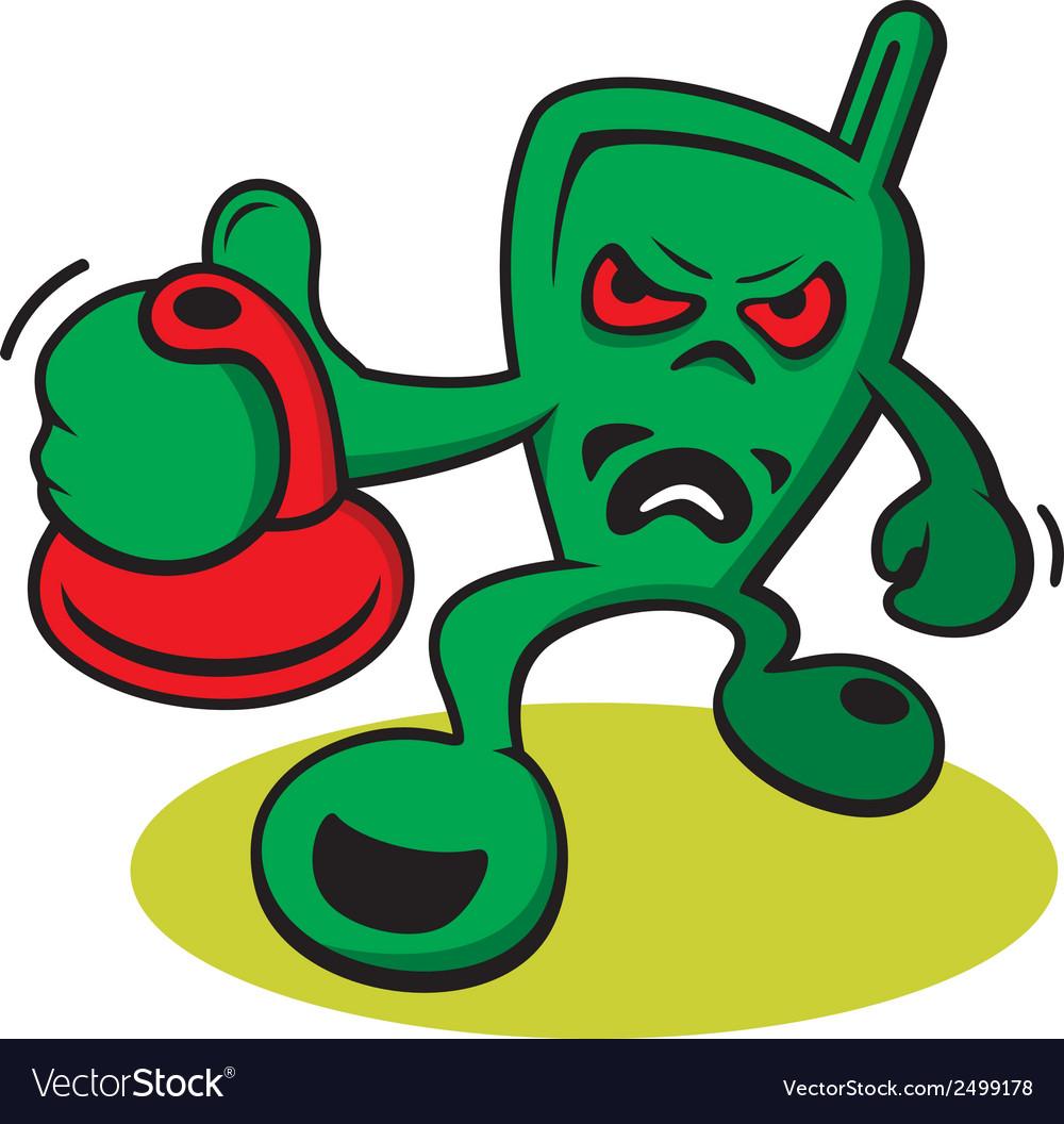 Aggressive creature logo vector | Price: 1 Credit (USD $1)