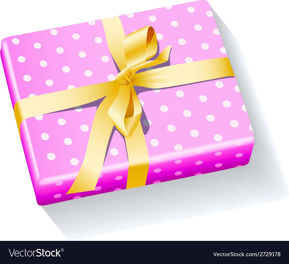 Box present holiday xmas vector | Price: 1 Credit (USD $1)