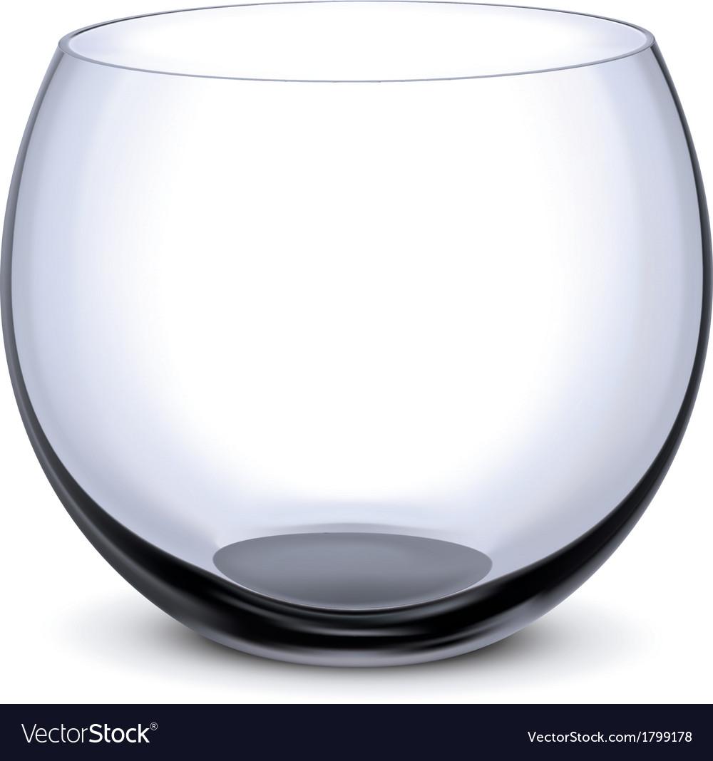 Fish bowl vector | Price: 1 Credit (USD $1)