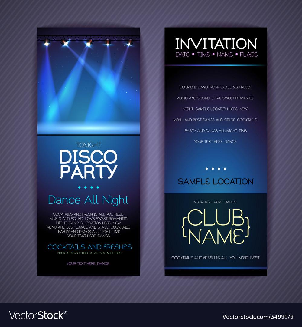 Disco corporate identity templates vector | Price: 3 Credit (USD $3)
