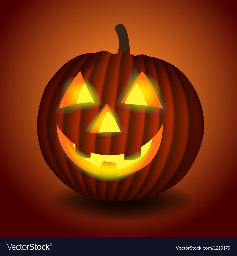 Halloween scary pumpking vector | Price: 3 Credit (USD $3)
