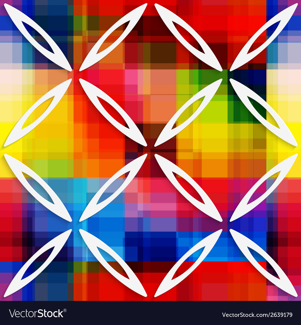 White oval net on rainbow layer seamless pattern vector   Price: 1 Credit (USD $1)
