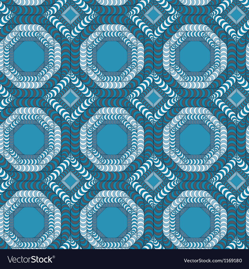 Abstract seamless pattern with a trellis structure vector | Price: 1 Credit (USD $1)