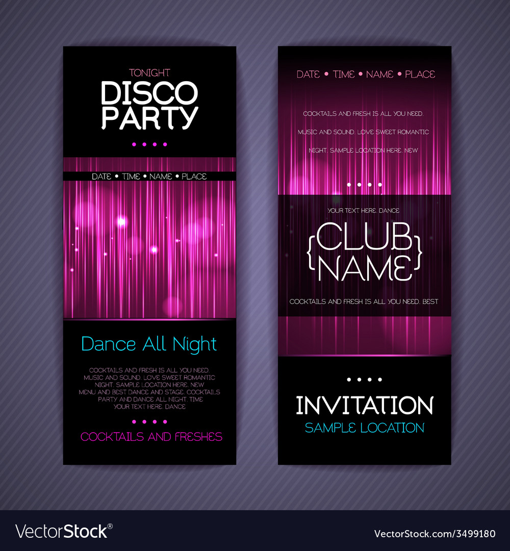 Disco corporate identity templates vector | Price: 3 Credit (USD $3)