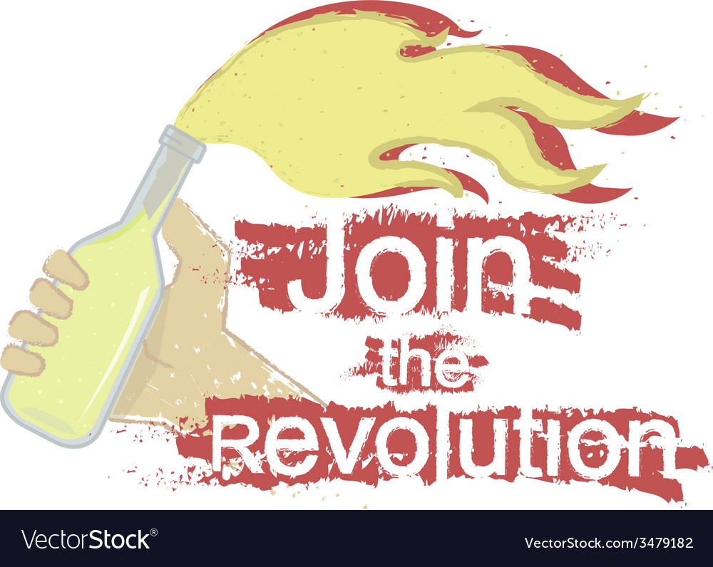 Join the revolution logo vector | Price: 1 Credit (USD $1)
