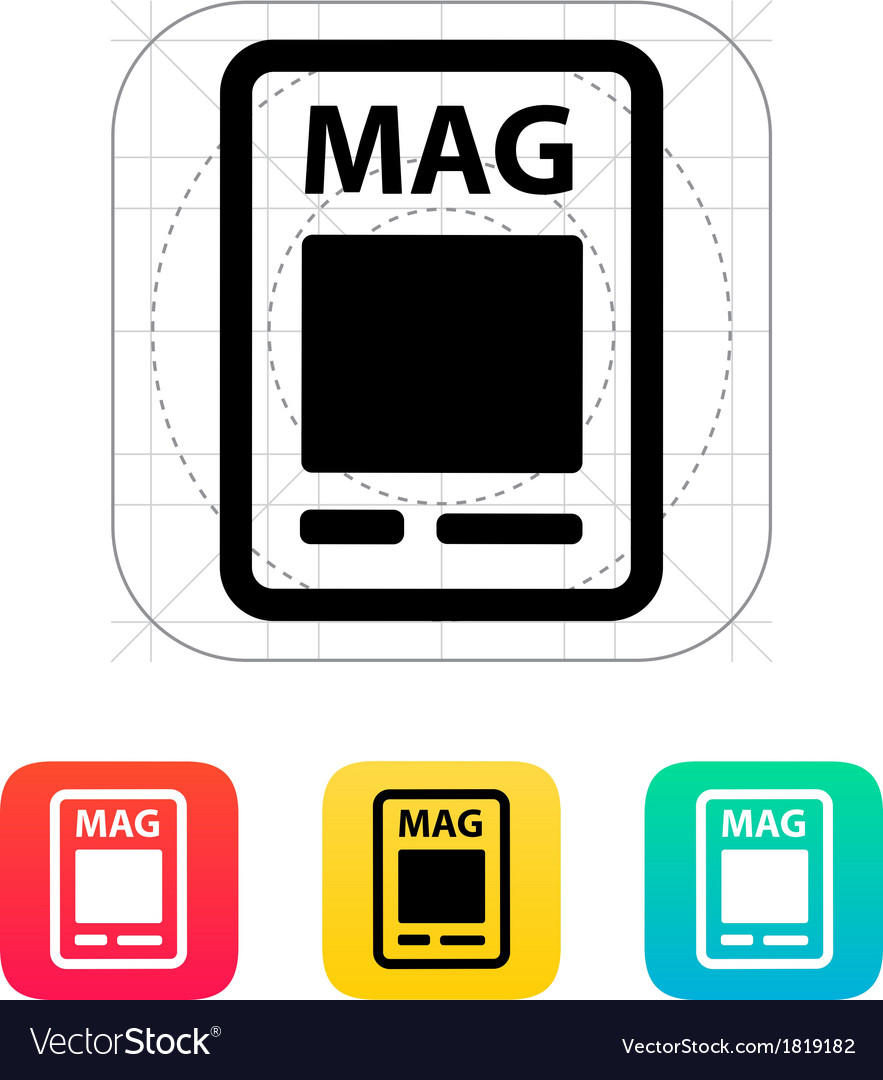 Magazine icon vector | Price: 1 Credit (USD $1)
