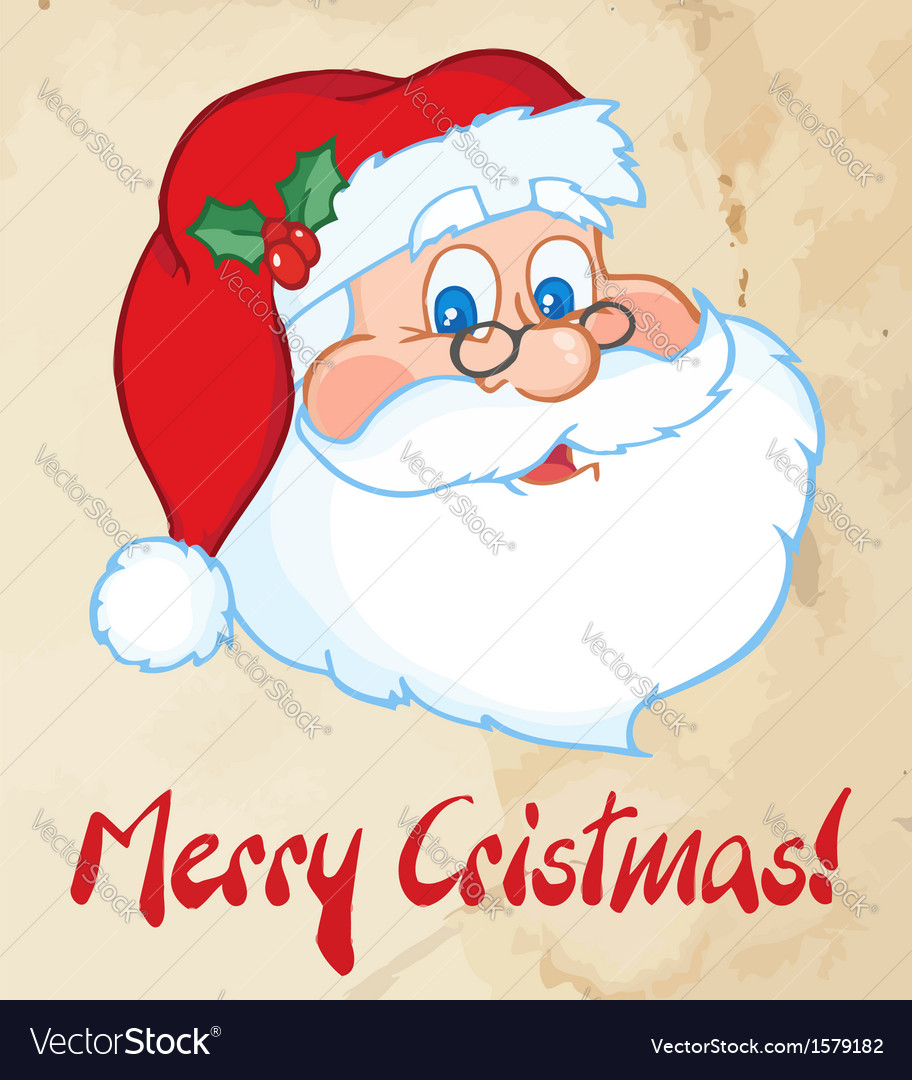 Santa cartoon vector | Price: 1 Credit (USD $1)
