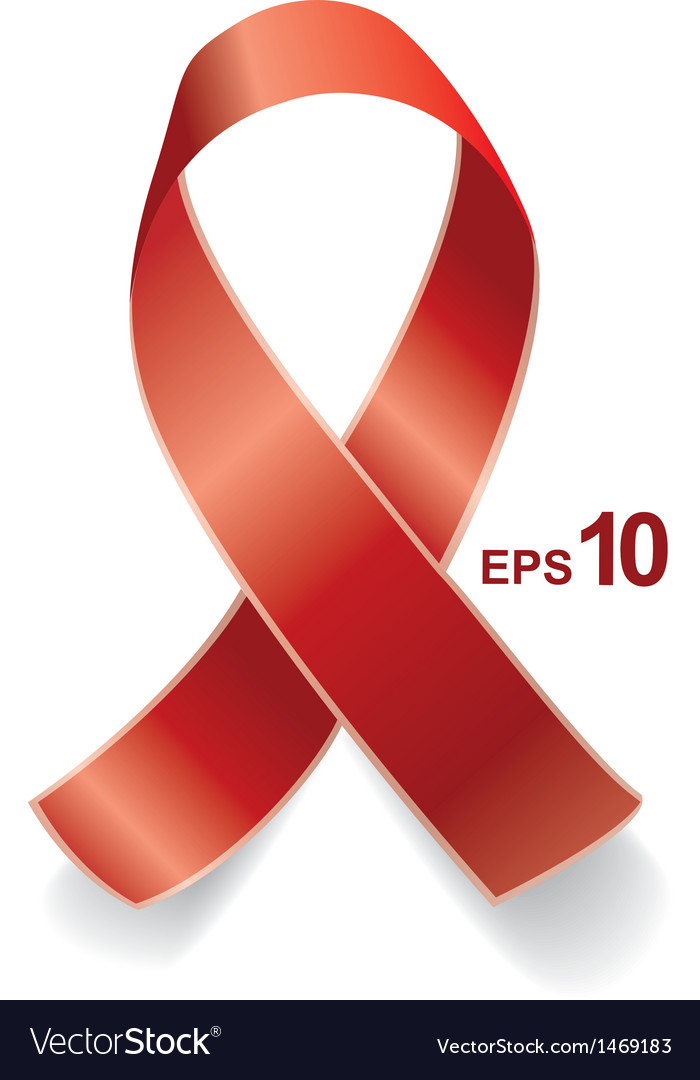Aids ribbon eps10 vector | Price: 1 Credit (USD $1)
