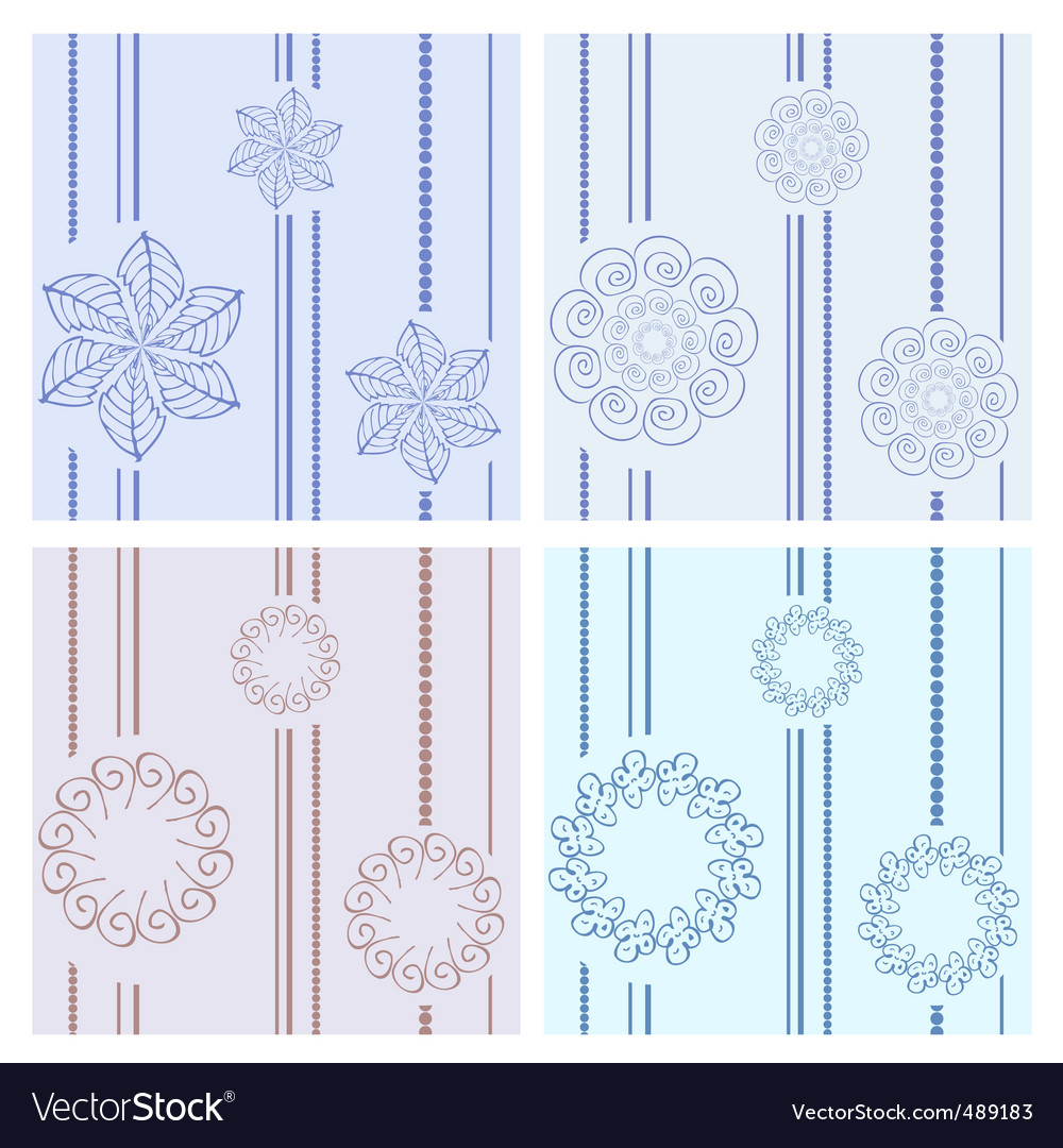 Floral design elements vector | Price: 1 Credit (USD $1)