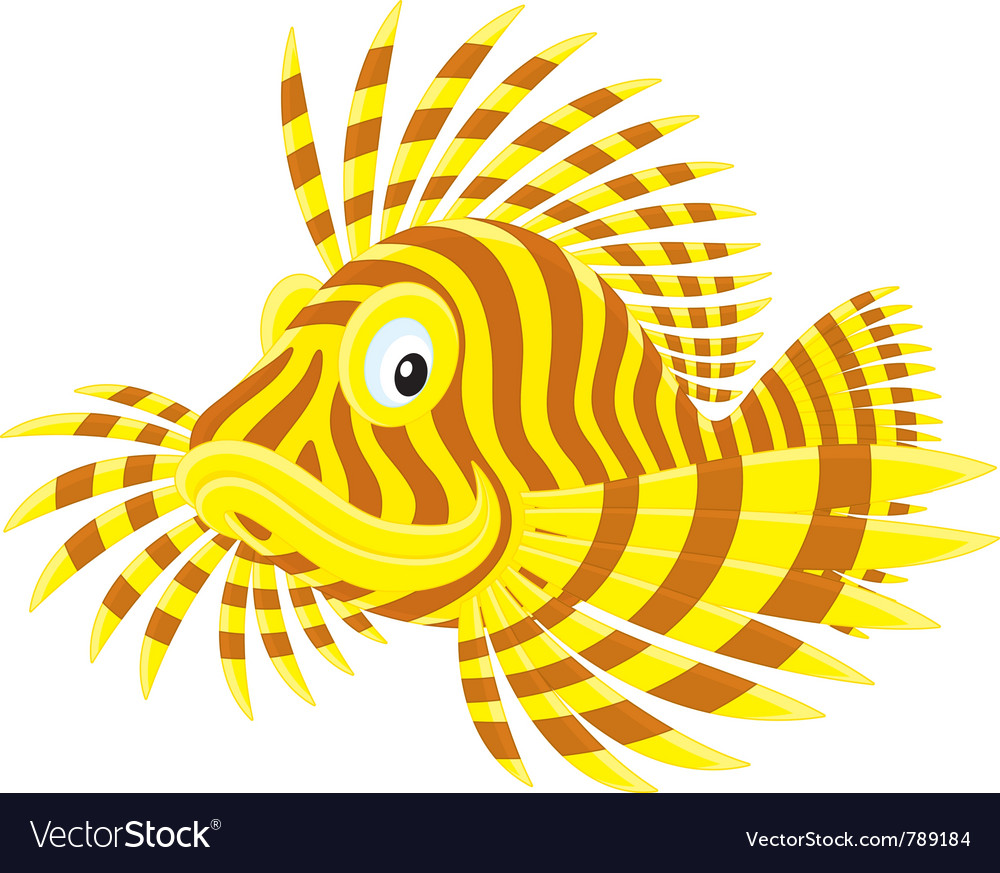 Scorpion fish vector | Price: 1 Credit (USD $1)