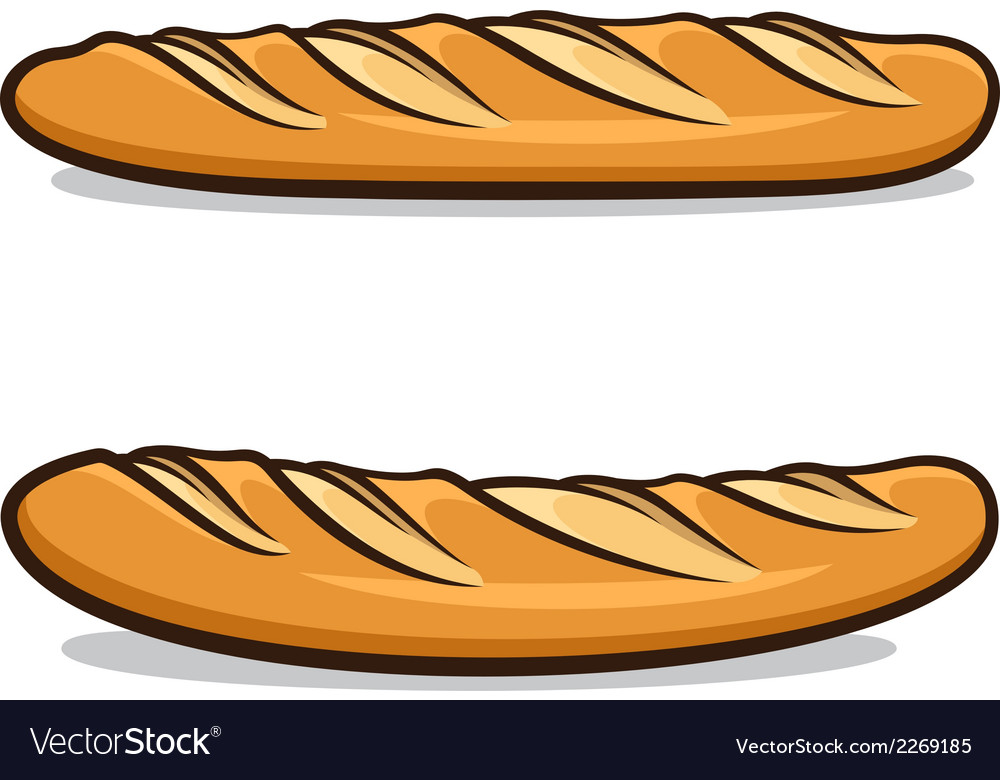 French baguette vector | Price: 1 Credit (USD $1)
