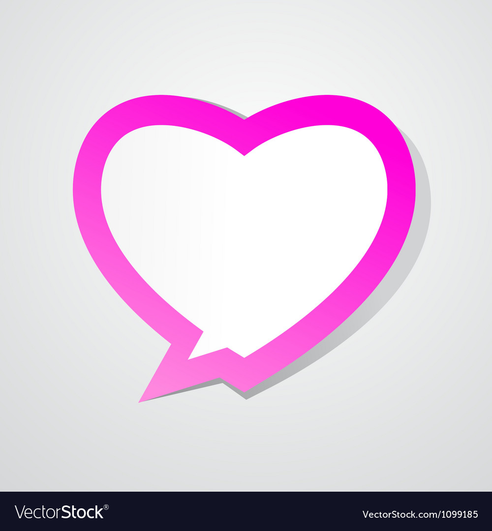 Love bubble vector | Price: 1 Credit (USD $1)