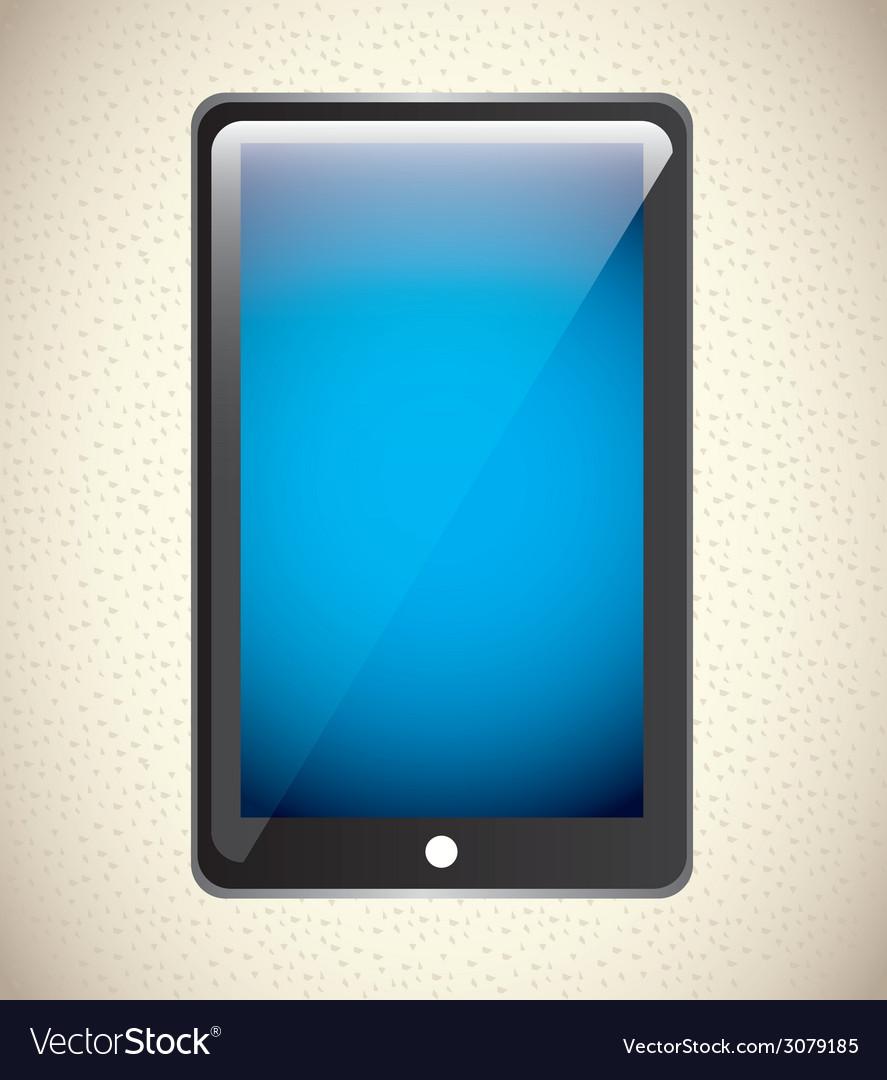 Tablet design vector | Price: 1 Credit (USD $1)
