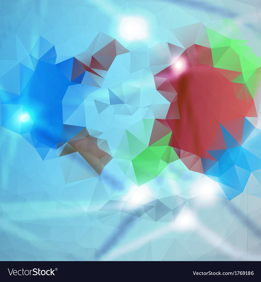 Abstract background polygon blue and card vector | Price: 1 Credit (USD $1)
