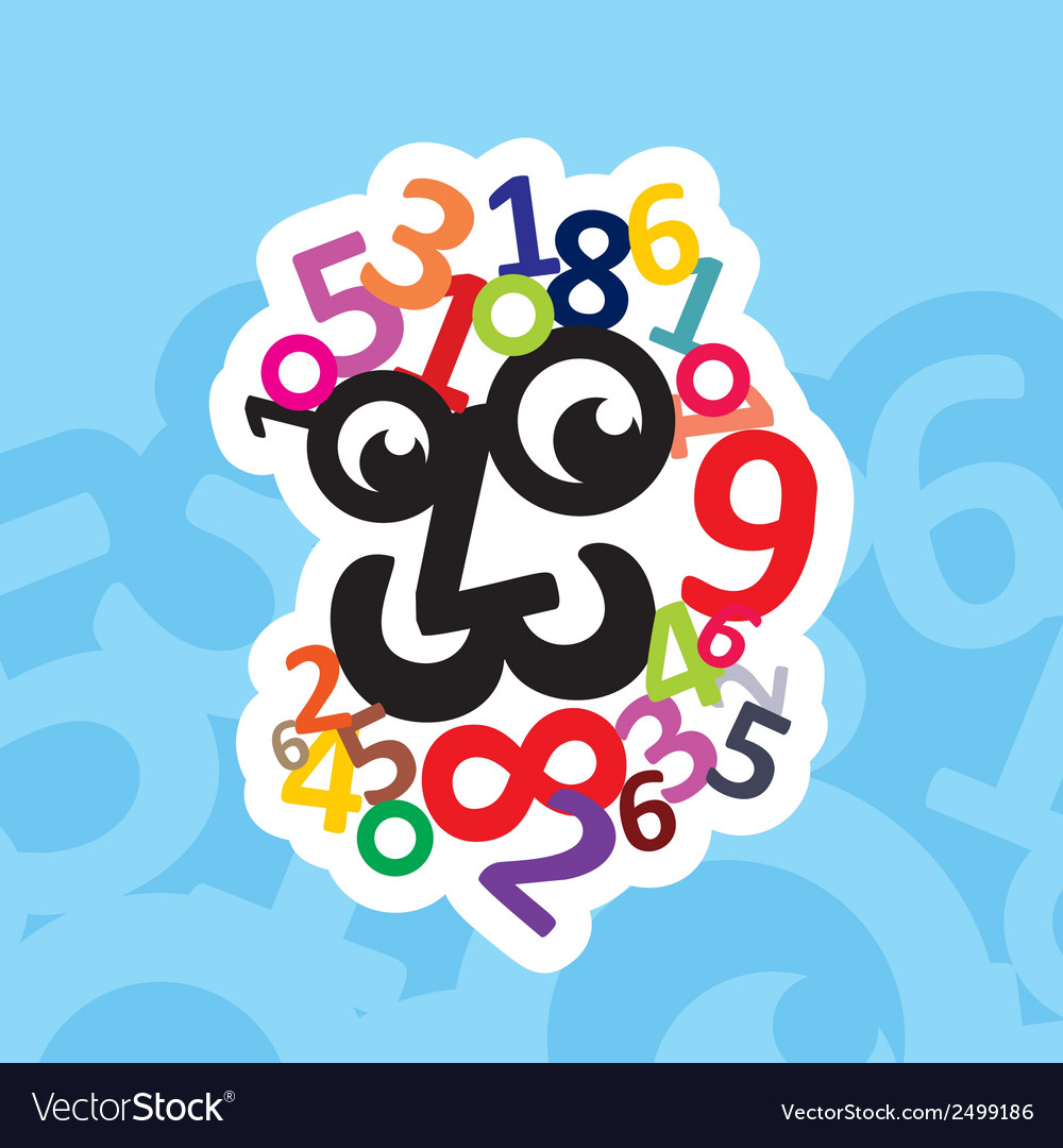 Digital head logo vector | Price: 1 Credit (USD $1)