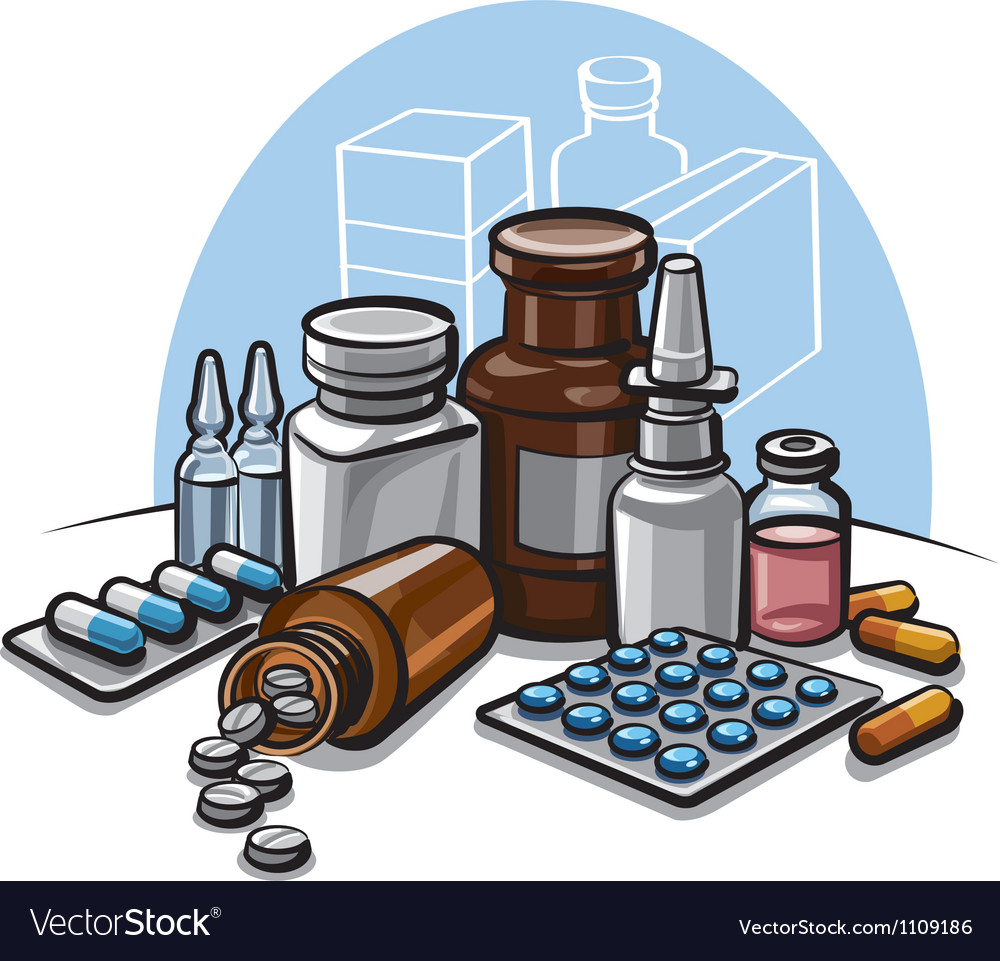 Drugs vector | Price: 3 Credit (USD $3)
