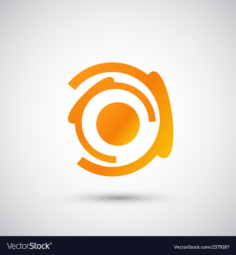 Color abstract object eps vector | Price: 1 Credit (USD $1)