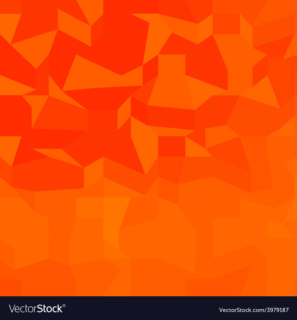 Fire red abstract low polygon background vector | Price: 1 Credit (USD $1)