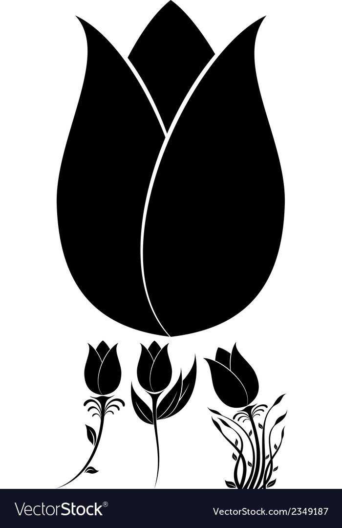 Flowers set 10 vector | Price: 1 Credit (USD $1)