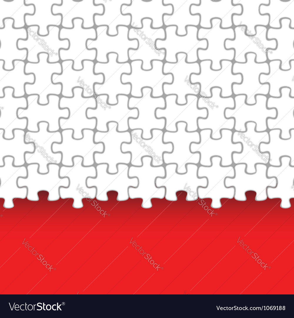Jigsaw puzzle background vector | Price: 1 Credit (USD $1)