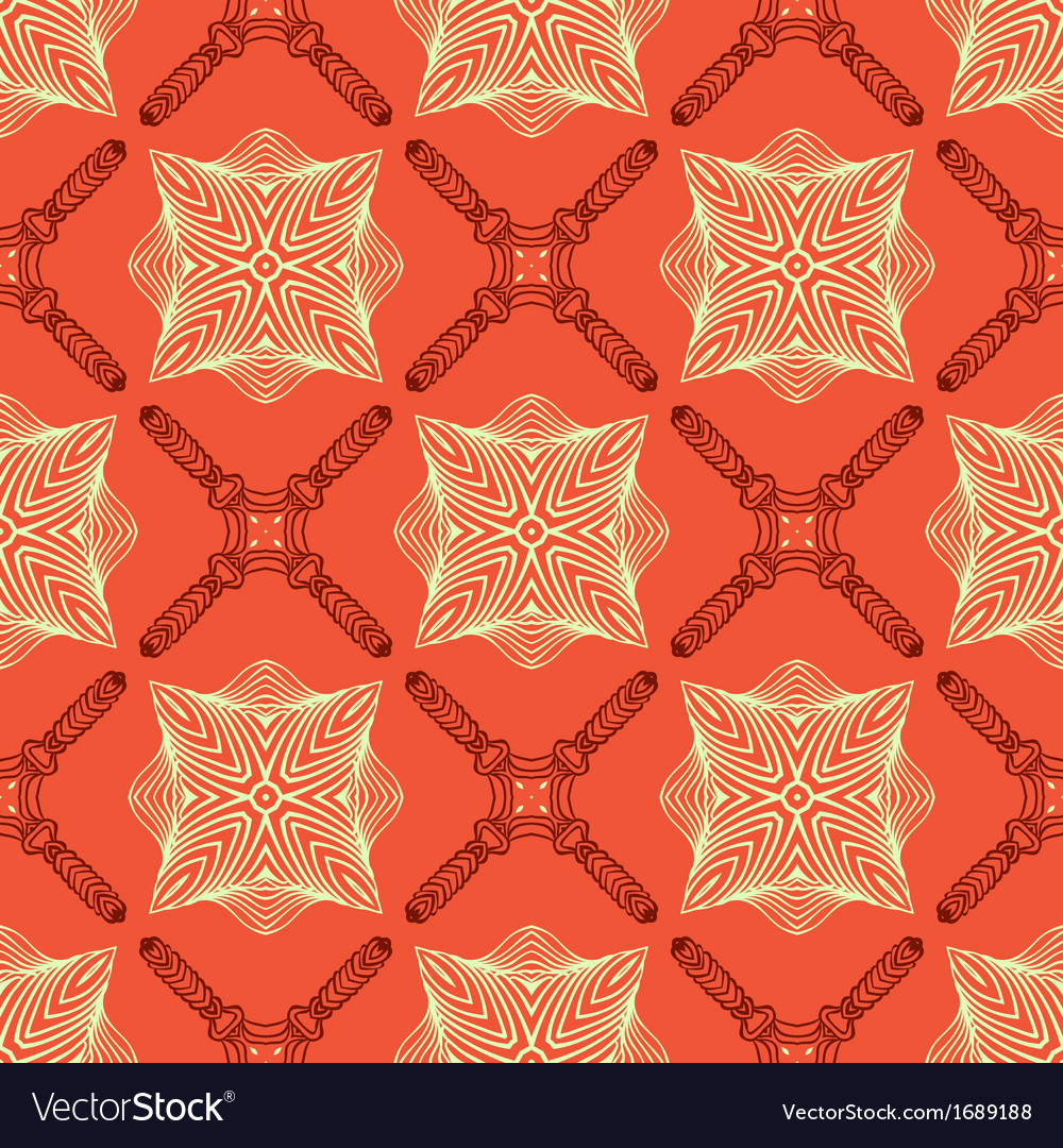 Linear elegant pattern with medieval look vector | Price: 1 Credit (USD $1)