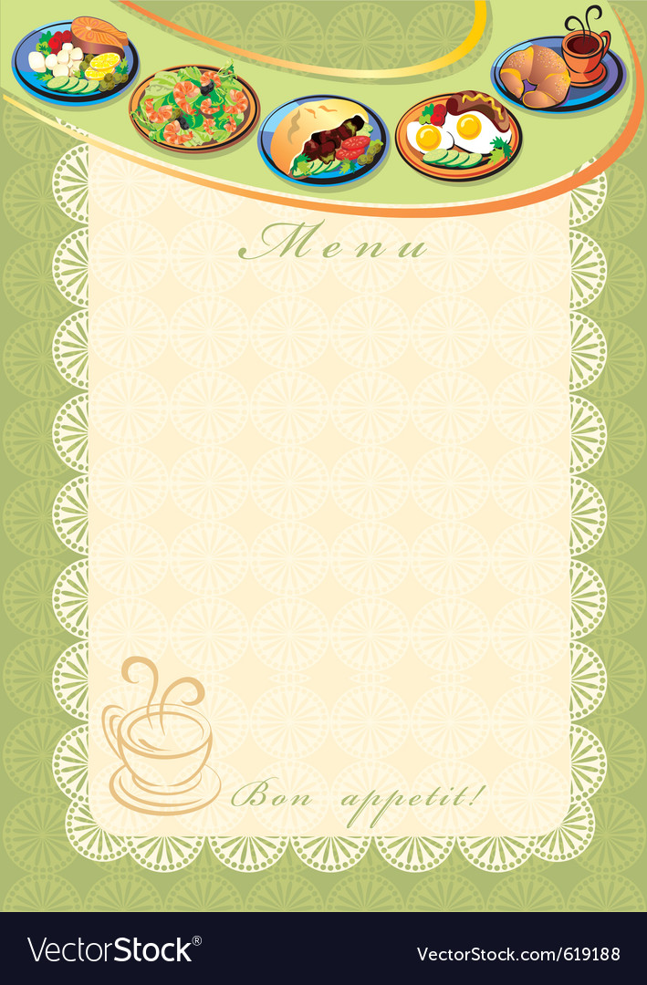 Menu vector | Price: 3 Credit (USD $3)