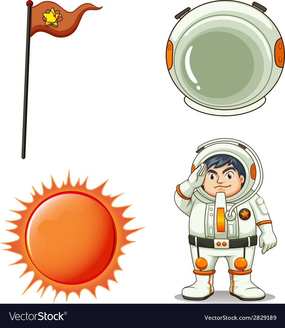 An astronaut vector   Price: 1 Credit (USD $1)