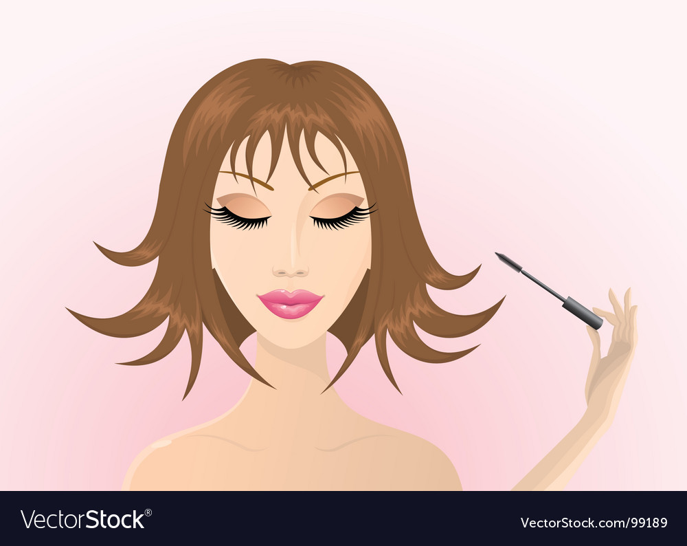 Long lashes vector | Price: 1 Credit (USD $1)