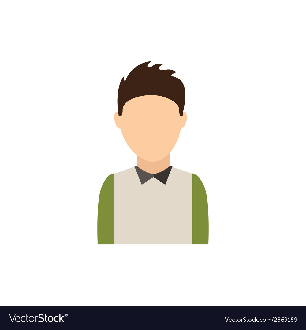Young man vector | Price: 1 Credit (USD $1)