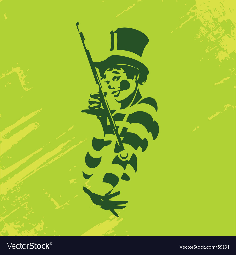 Clown illustration vector | Price: 1 Credit (USD $1)